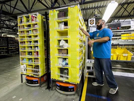 Amazon Talks Robots