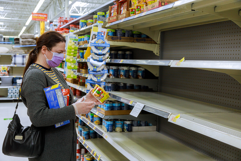 Double-digit Decline in Imports Adds Up to Empty Shelves