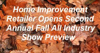 HomeImprovementRetailer Opens Second Annual Fall Virtual Event