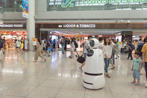 Robots Provide Solutions to Improve Customer Service and Safety